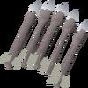Pearl bolts (e) detail