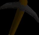 Black pickaxe