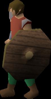 Fremennik shield equipped