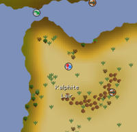 Kalphite Lair location