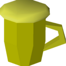Mature cider detail