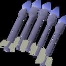 Sapphire bolts (e) detail