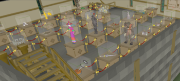 Varrock Museum first floor