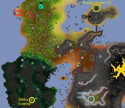Magic Mushtree map