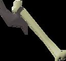 Bone spear detail