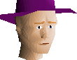 Purple hat chathead