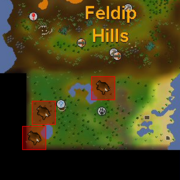 Red chinchompa location