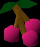 Zamorak's grapes detail
