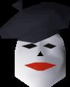 Beret mask detail