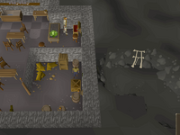Cryptic clue - search crate lumbridge basement