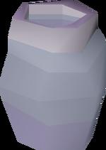 Empty gourd vial detail