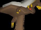 Mahogany demon lectern