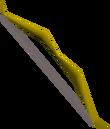 Yew longbow detail