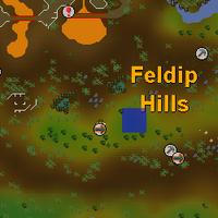 Hot cold clue - feldip gnome glider map