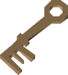 Warm key detail