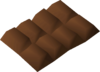 Chocolate bar detail