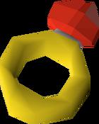 Ring of forging detail