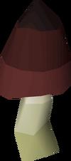 Black mushroom detail