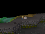 Emote clue - wave castle drakan