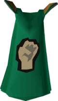 Strength cape detail