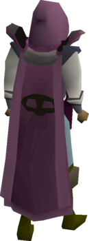 Thieving cape equipped
