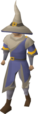 Ancestral robes equipped
