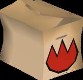 Fire rune pack detail