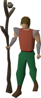 Slayer's staff (e) equipped