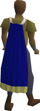 Saradomin cape equipped
