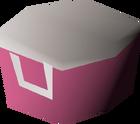 Villager hat (pink) detail