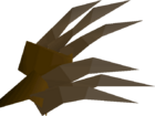 Bronze claws detail