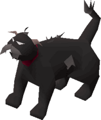 Lazy cat (black) pet