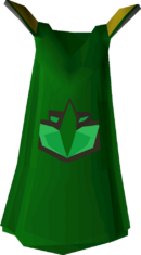Herblore cape detail