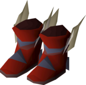 Primordial boots detail