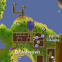 Hot cold clue - Brimhaven docks map