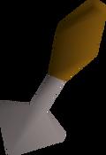 Trowel detail