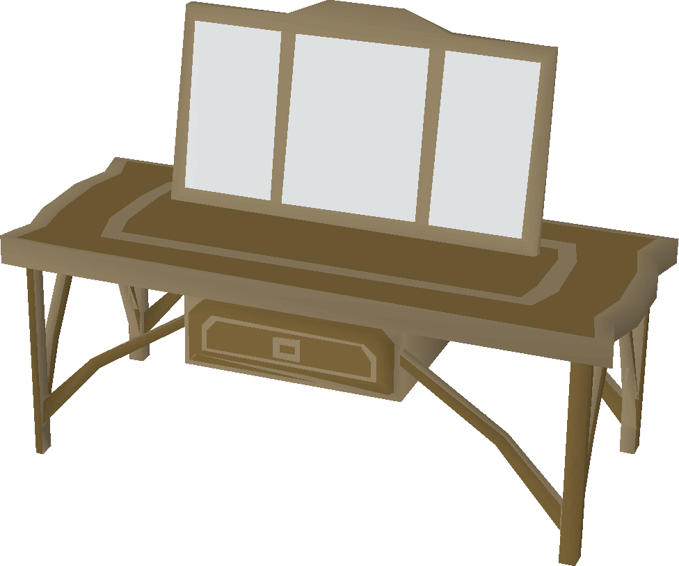 Fancy teak dresser built