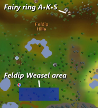 Feldip Weasel map