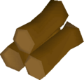 Maple logs detail