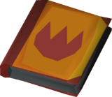 Tome of fire detail