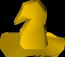 Yellow hat detail