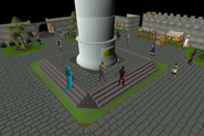 Great Kourend statue