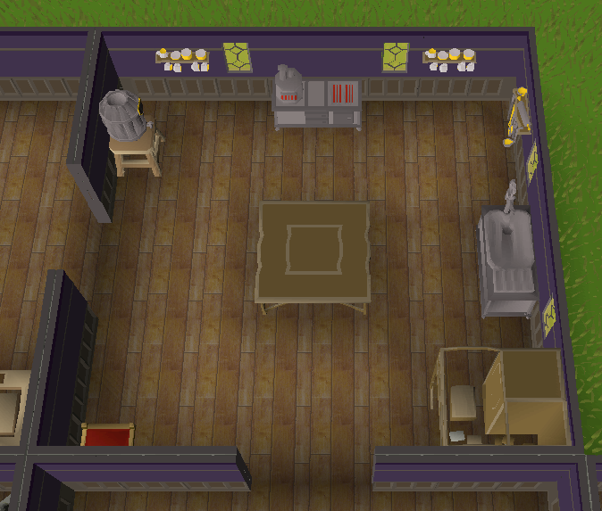 runescape leveling table