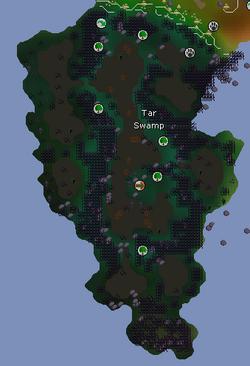 Tar Swamp map