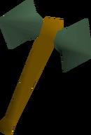 Adamant battleaxe detail