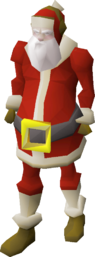 Santa outfit (male) equipped