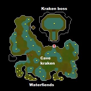 Image result for kraken dungeon osrs