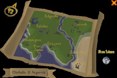 Newcomer map screen