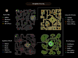 Stronghold of security map
