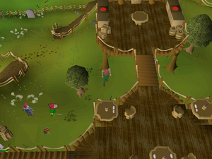 Hot cold clue - Grand Tree